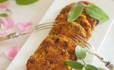 galette végétarienne sans gluten
