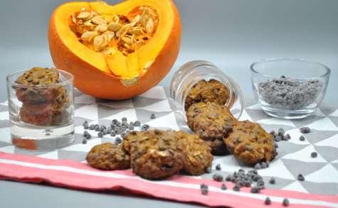 Cookies potimarron chocolat