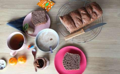 Brioche au chocolat et mascarpone