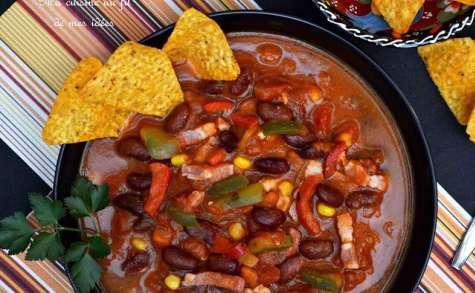 Soupe-repas façon chili con carne
