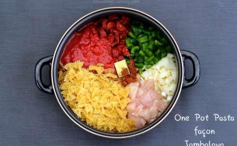 One pot pasta façon jambalaya