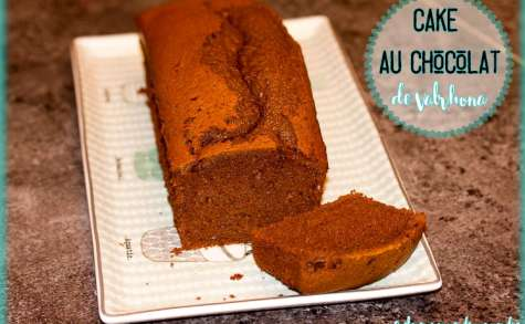 Cake au chocolat de Valrhona