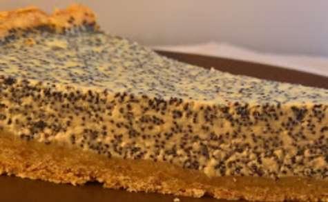 Gâteau au fromage et au pavot
