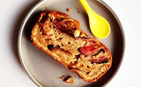 Gâteau moelleux aux figues et à la crème de marrons