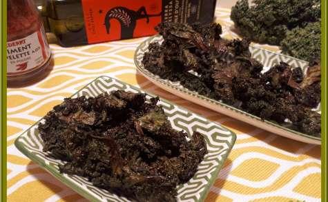 Chips de Chou Kale épicées
