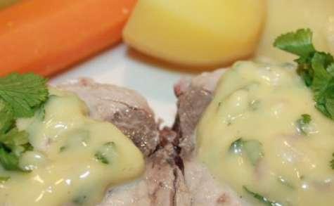 Pot au feu de thon revisité aux saveurs d'Asie et sa sauce  à la ravigote
