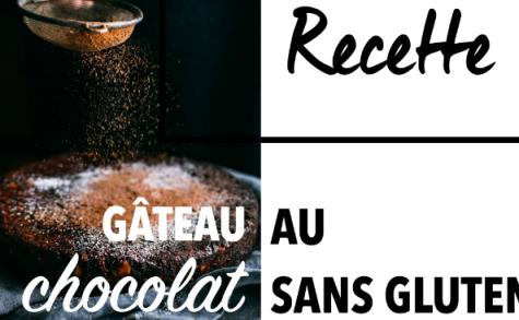 Gâteau au chocolat Sans Beurre & Sans Gluten par Glutenoy.com