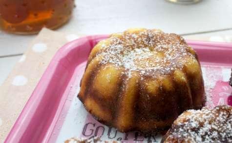 Mini bundt cakes à la ricotta et aux kumquats confits