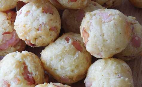 Cookies Balls au bacon et comté