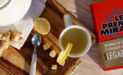 Tisane revigorante gingembre citron miel