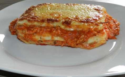 Lasagne sauce bolognaise
