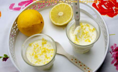 Panna cotta au citron bergamote