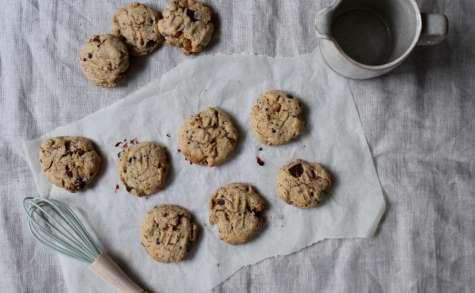 Cookies au chocolat noir et noix torréfiées