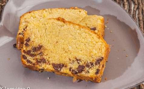 Gâteau du matin à la polenta et au chocolat