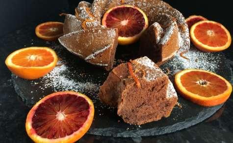 Madeleine chocolat orange sanguine sans gluten - NathyChef