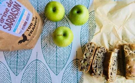 Bread Cake au sarrasin, aux pommes et à l'anis