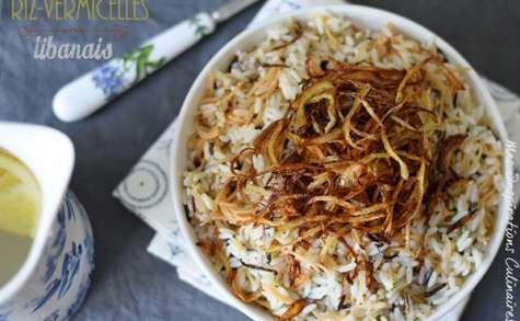 Recette de Riz aux vermicelles, cuisine libanaise