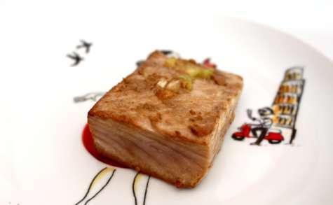 Pavé de thon à la plancha