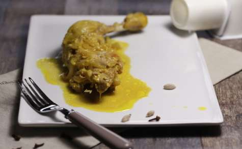 Cuisses de poulet aux yaourts
