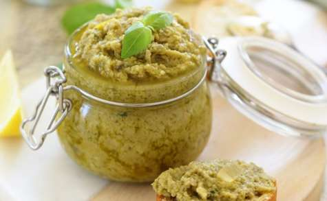 Tapenade d'olives vertes au citron confit