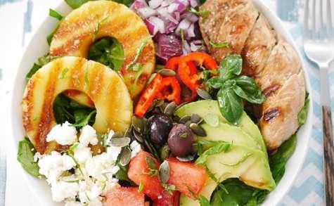 Salade buddha bowl estivale
