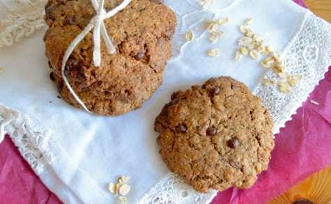 Cookies à l'épeautre, fibres et chocolat