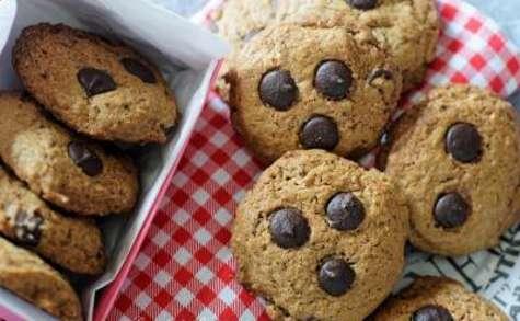 Cookies au café et au chocolat noir