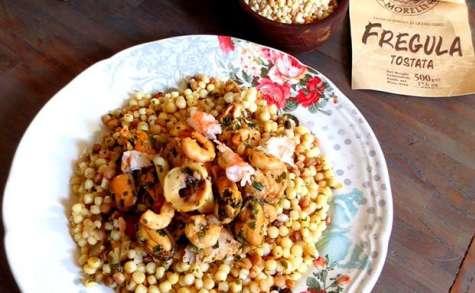Soupe de fruits de mer à la Cagliaritana