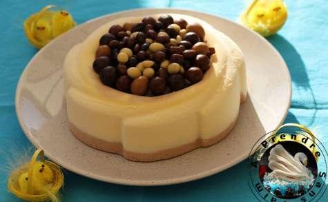 Parfait glacé de Pâques vanille chocolat