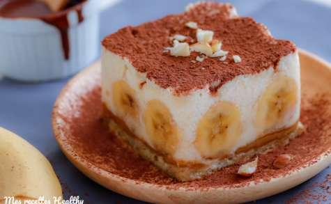 Bannoffee pie healthy à la banane et au yaourt