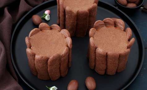 Charlottes chocolat - noix de coco