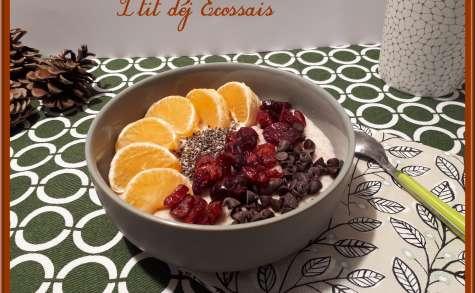 Porridge au lait d'Amande