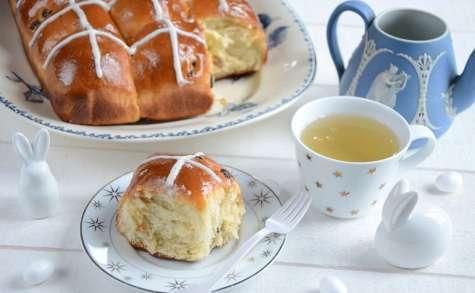 Hot cross buns, petites brioches de Pâques