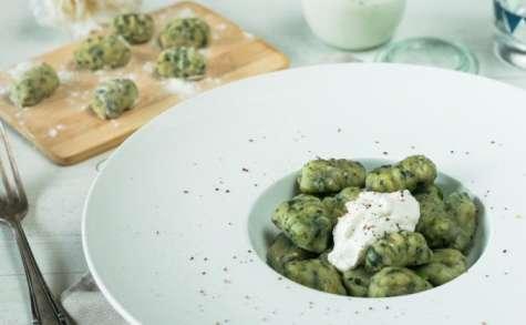 Gnocchis aux épinards