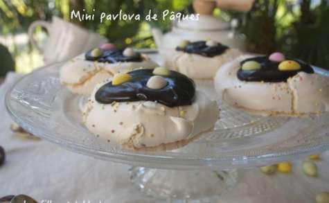 Mini pavlova de Pâques au chocolat