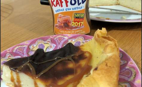 Flan pâtissier au companion avec Raffolé son caramel beurre salé