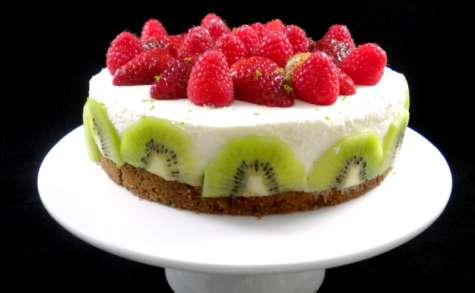Un cheesecake printanier