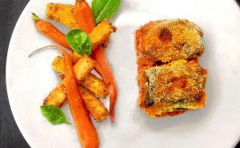 Tripes façon paquets Marseillais, frites de polenta & carottes épicées