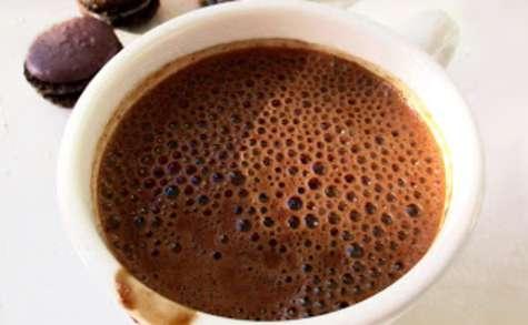 Chocolat chaud à l'ancienne & piment d'Espelette