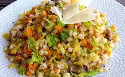 Orge perlé aux petits légumes