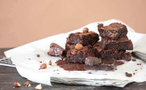 Brownie aux noisettes et au chocolat