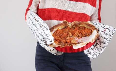 La tarte à la bolognaise végétale