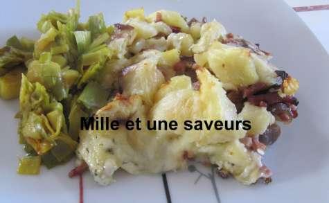 Gratin de pommes de terre au morbier - mille et une saveurs dans ma cuisine