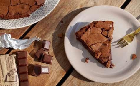 Gâteau au chocolat à la meringue française