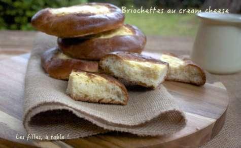 Briochettes au cream cheese