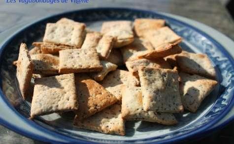 Crackers comté - pavot