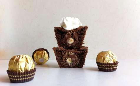 Cupcake Ferrero® Rocher gourmandise