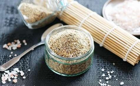 Gomasio aux graines de sésame lin et pavot