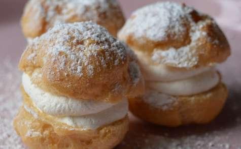 Choux à la Crème Fouettée au Sirop d'Erable