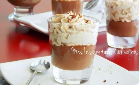 Petits pots de crème au café